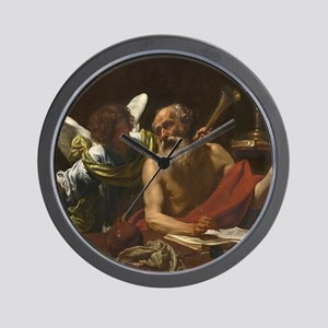 Saint Jerome and the Angel Wall Clock