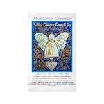 Blue & Gold Cancer Angel 3'x5' Area Rug