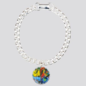 After the work, Afro-Ame Charm Bracelet, One Charm