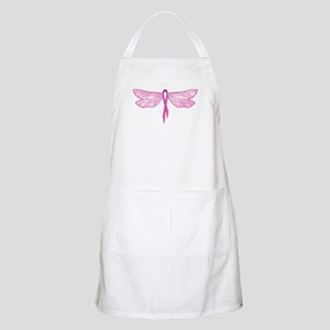 Breast Cancer Dragonfly BBQ Apron