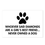 Girl's Best Friend Dog Postcards (Package of 8)