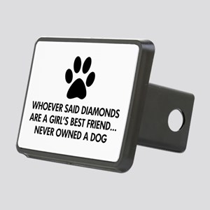 Girl's Best Friend Dog Rectangular Hitch Cover