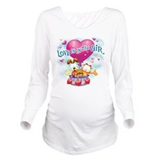 Love Is In The Air Long Sleeve Maternity T-Shirt
