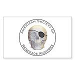 Renegade Auditors Sticker (Rectangle 10 pk)