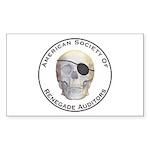 Renegade Auditors Sticker (Rectangle 50 pk)