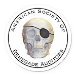 Renegade Auditors Round Car Magnet