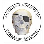Renegade Auditors Square Car Magnet 3