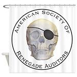 Renegade Auditors Shower Curtain