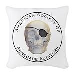 Renegade Auditors Woven Throw Pillow