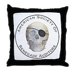 Renegade Auditors Throw Pillow