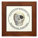 Renegade Auditors Framed Tile