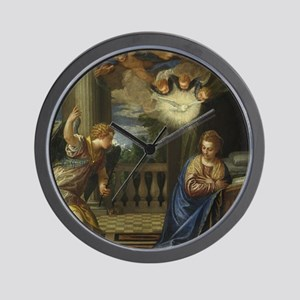 Veronese - The Annunciation Wall Clock