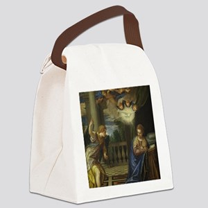 Veronese - The Annunciation Canvas Lunch Bag