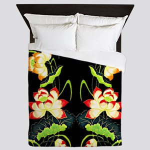 Chinese Embroidery Queen Duvet
