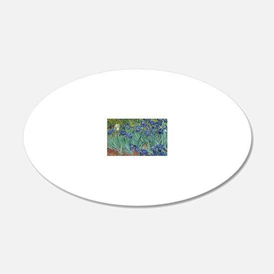 Vincent van Gogh - Irises Wall Decal