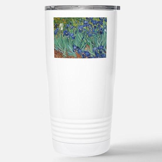 Vincent van Gogh - Iris Stainless Steel Travel Mug