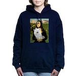 8x10-Mona-AmEskimoSpitz Hooded Sweatshirt