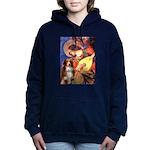5.5x7.5-Angel3-Aussie4-red Hooded Sweatshirt