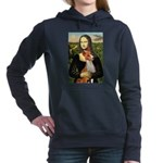 Mona Lisa-Basenji #1 Hooded Sweatshirt