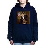 TILE-Lincoln-Basset2 Hooded Sweatshirt