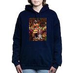 card-Path-Basset1 Hooded Sweatshirt