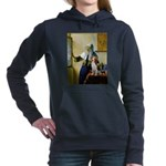 Woman with Pitcher - Beagle 1 - square Hooded