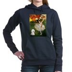 8x10-Dancer1-Bichon1 Hooded Sweatshirt