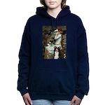 5.5x7.5-Ophelia2-BordC1 Hooded Sweatshirt