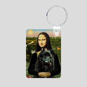 8x10-Mona-Bouvier1 Aluminum Photo Keychain