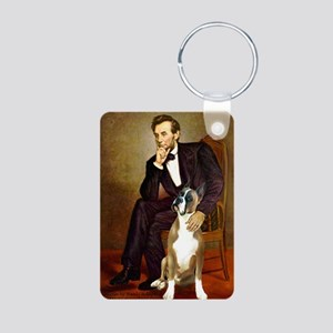 MP-Lincoln-Boxer1up Aluminum Photo Keychain