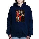 TILE-Lady-Boxer5-Brindle Hooded Sweatshirt