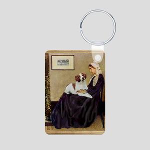 WMom-Britt1 Aluminum Photo Keychain