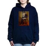 TILE-Lincoln-Cav-Blk-Tan Hooded Sweatshirt