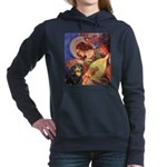 TILE-Angel3-Cav-Blk-Tan Hooded Sweatshirt