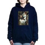 TILE-Oph2-Cav-Blk-Tan Hooded Sweatshirt