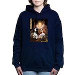 5.5x7.5-Queen-CavPAIR Hooded Sweatshirt