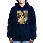 MP-MONA-3Chihuahuas-Bernitas Hooded Sweatshirt