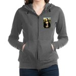 CARD-Mona-Crested1 Zip Hoodie