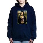 CARD-Mona-Crested1 Hooded Sweatshirt