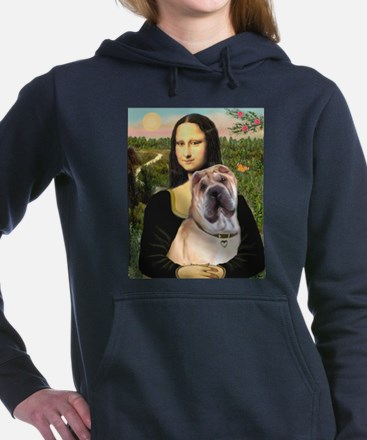 MP-MONA-Sharpei5.png Hooded Sweatshirt