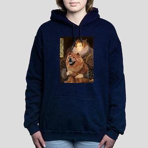 5.5x7.5-Queen-Chow1 Hooded Sweatshirt