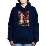 5.5x7.5-Accolade-Collie1 Hooded Sweatshirt