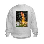 5.5x7.5-MidEve-Coton4 Kids Sweatshirt