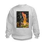 5.5x7.5-MidEve-DachsPAIR Kids Sweatshirt