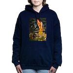 5.5x7.5-MidEve-DachsPAIR Hooded Sweatshirt