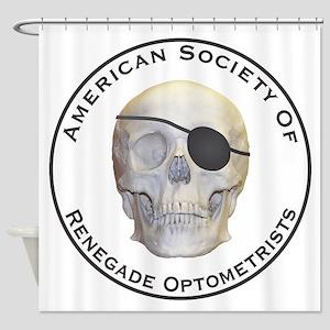 Renegade Optometrists Shower Curtain