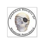 Renegade Paralegals Square Sticker 3