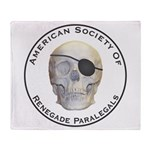Renegade Paralegals Throw Blanket