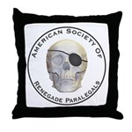 Renegade Paralegals Throw Pillow
