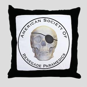 Renegade Paramedics Throw Pillow